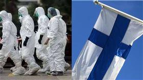 芬蘭出現疑似武漢肺炎病例。(組圖/翻攝自微博,臉書)