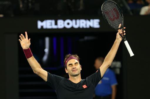 ▲費德勒達成澳網第100勝。(圖/翻攝自澳網推特)