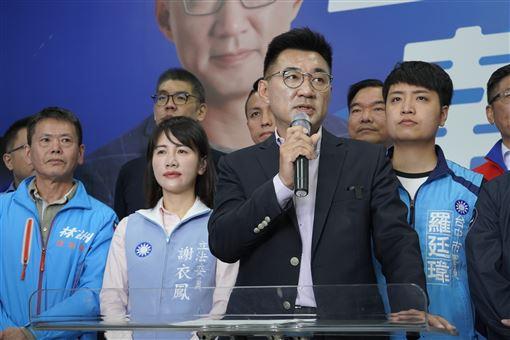 江啟臣宣布參選黨主席(圖/江啟臣辦公室提供)