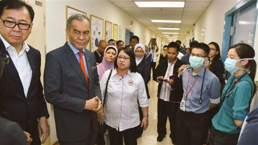 馬來西亞失守!確診3例武漢肺炎 全是中國武漢人(圖/翻攝自Dzulkefly Ahmad推特)