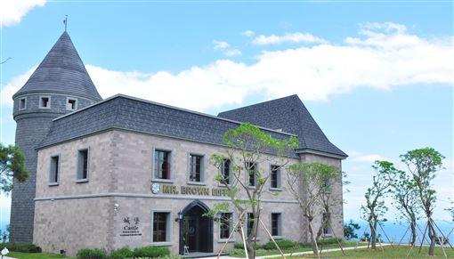 ▲伯朗城堡咖啡館(圖/金車關係事業提供)