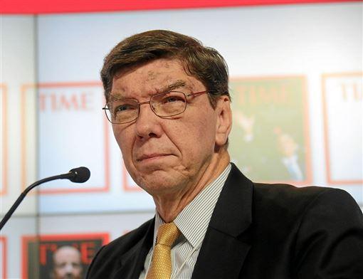 創新大師、哈佛大學商學院教授克里斯汀生傳出過世噩耗,享壽67歲。(圖取自維基共享資源;作者World Economic Forum,CC BY-SA2.0)