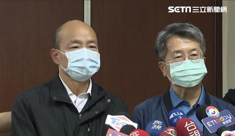 新/高雄一級開設 韓國瑜擔任指揮官