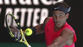 ▲納達爾(Rafael Nadal)晉級澳網16強。(圖/美聯社/達志影像)