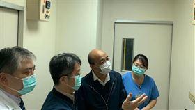 韓國瑜視察民生醫院(圖/翻攝自韓國瑜臉書)