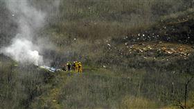 ▲『小飛俠』布萊恩的私人直升機墜毀。(圖/美聯社/達志影像)