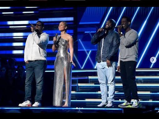 葛萊美,艾莉西亞凱斯,Boyz II Men/翻攝自IG