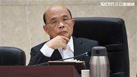 行政院長蘇貞昌主持治安會報。(圖/行政院提供)