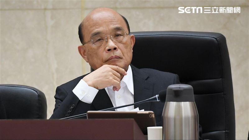 蘇貞昌勉內閣發揮創意:禿頭最知冬風吹很冷、夏陽曬很痛
