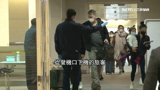 國籍航空上海班機旅客發燒 全機消毒延遲返台