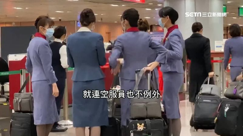 上海班機旅客發燒 全機消毒延遲返台