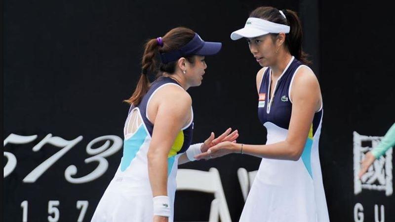 詹家姊妹有驚無險 晉級澳網女雙8強