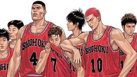 全球賣破1.2冊的《灌籃高手》漫畫。(圖/尖端出版提供)
