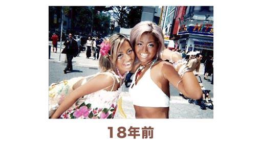 人氣109辣妹「ゴングロ3兄弟withU」成員,包括「あこ吉」以及「水野祐香」 圖/翻攝自YT