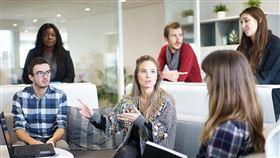 社交/開會/職場/上班。 (示意圖/翻攝自Pixabay)