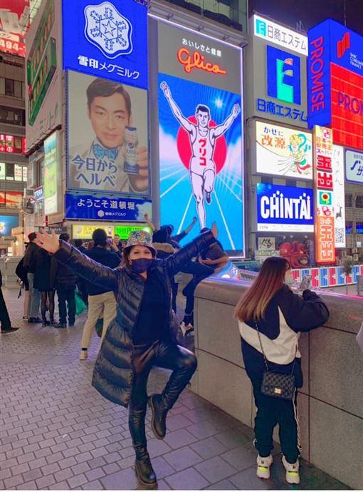 張雅琴日本見陸客「搶口罩」:他們羨慕台灣(圖/翻攝自張雅琴主播臉書)