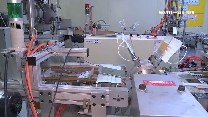 工廠恢復生產線 每日產30萬片口罩