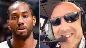 柯比飛行員經驗豐富 傳可愛也雇用他 NBA,Kobe Bryant,Kawhi Leonard,直升機,飛行員 翻攝自推特