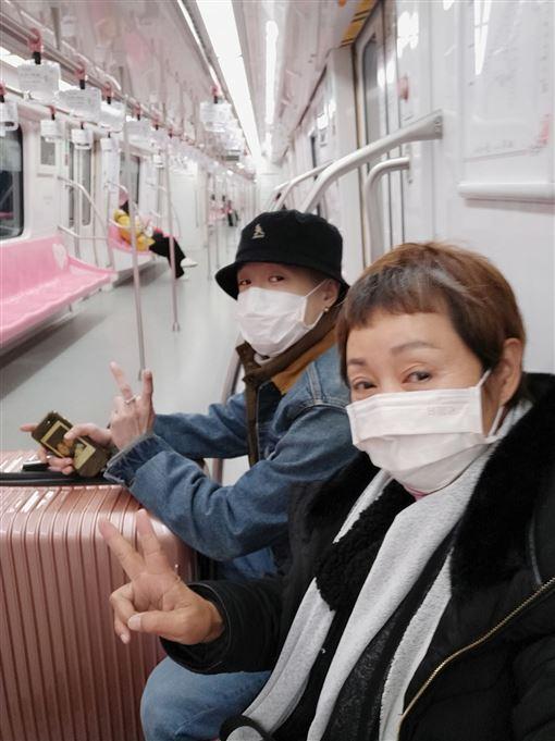 武漢肺炎,口罩,鮑正芳,南京 圖/臉書