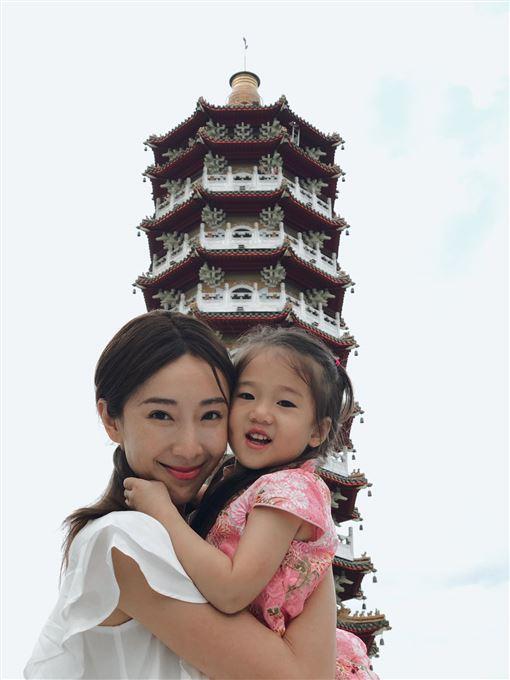 ▲隋棠,小孩,孩子。(圖/翻攝自Instagram@suitangtang)