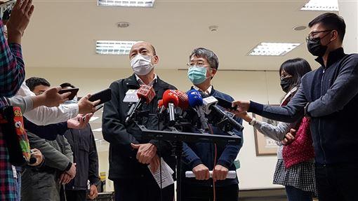 韓國瑜主持市府一級開設防疫會議