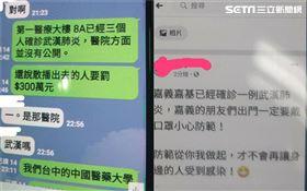 武漢肺炎,嘉義基度教醫院,台中中國醫藥,假訊息 圖/警方提供