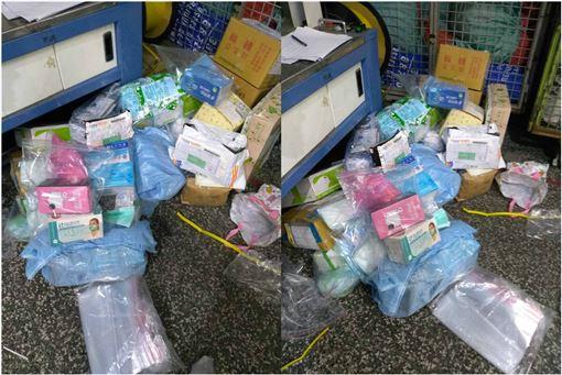 台北,航警局,海關,口罩,武漢肺炎(圖/翻攝畫面)