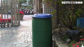 廚餘桶。(圖/記者陳韋帆攝影)