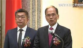 民進黨立委游錫堃宣誓就職發表演說。(圖/資料畫面)