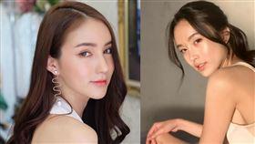 泰國最正變性美女Poy(右)與Yoshi Rinrada。(圖/翻攝自IG)