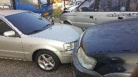 澎湖追撞車禍 6車受損1人傷(1)