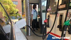 加油站(陳弋攝影)