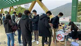 香港部分醫護人員因不滿政府不封關抗疫,3日起響應工會號召參與罷工。(圖/翻攝自醫管局員工陣線臉書)