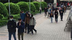 109學年度的大學學測(圖/記者簡若羽攝影)