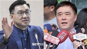 誰會贏?國民黨主席補選爭奪戰…鄭文燦:看好江啟臣勝出!(組合圖/資料照)