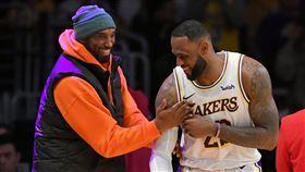 柯比顯靈?詹皇曝比賽「詭異巧合」 NBA,Kobe Bryant,LeBron James,洛杉磯湖人 翻攝自推特