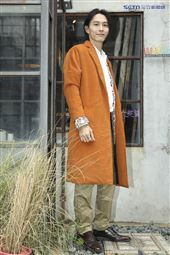 《彼岸之嫁》飾演厲鬼惡少演員田士廣接受訪問。(圖/記者林士傑攝影)