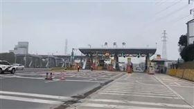 武漢徹底封城!大眾運輸停運後…「高速公路」開始封閉▲。(圖/翻攝自微博)