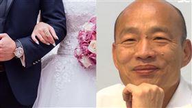 喜之日也罷韓!新人婚禮擺「罷韓專區」:期待未來能生活在漂亮的高雄(圖/翻攝自Pixabay、資料照)