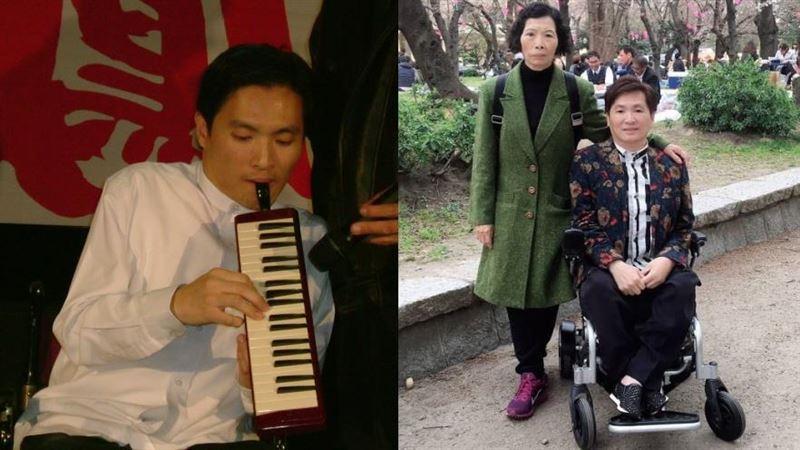 天天揹2公里上學 小兒麻痺歌手唱出母愛超催淚