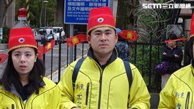 王炳忠,新黨反反滲透法-綠色恐怖無法無天。(圖/記者林恩如攝影)