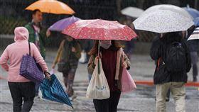 全台有雨北部濕冷(1)中央氣象局表示,5日持續受到東北季風及南方雲系影響,全台各地都容易下雨,尤其是北部及東北部降雨時間較長,感受上較為濕冷。中央社記者徐肇昌攝  108年12月5日