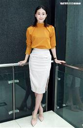 「跟鯊魚接吻」女主角鍾瑶。(記者邱榮吉/攝影)