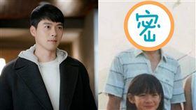 玄彬、孫藝真童年(圖/Netflix提供、微博)