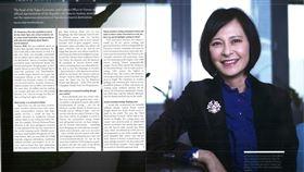 奧地利外交官雜誌訪史亞平 大篇幅介紹台灣奧地利外交官雜誌在最新一期刊出駐奧地利代表史亞平專訪,她在6頁顯著篇幅中介紹台灣民俗、文化、風景、美食。(駐奧地利代表處提供)中央社記者唐佩君布魯塞爾傳真 107年3月2日