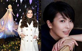 《冰雪奇緣2》的美國歌手伊迪娜曼佐(Idina Menzel)/松隆子。IMDB、IG