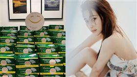 何超蓮旗下慈善組織「Smile With Us HK」訂購大批口罩照。(圖/翻攝自何超蓮IG)