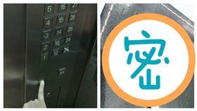 原子筆,電梯,按鍵,鑰匙,陳志金