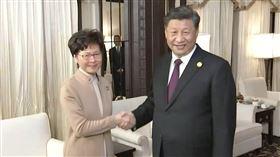 習近平會見林鄭月娥 稱中央高度信任