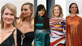 台灣時間10號一早舉辦的奧斯卡頒獎典禮,是不少影迷與片商相當最期待的盛典之一。今年可說是眾星雲集,除了有李奧納多·狄卡皮歐與布萊德彼特之外,史嘉蕾·喬韓森 、亞當崔佛、芮妮齊維格等大咖好萊塢明星都有相關多作品入圍。而在紅毯上女星可說是爭奇鬥艷,可惜穿著不OK的也不少,最醜5位女星也曝光,分別是瑪格羅比、瑪雅魯道夫、凱薩琳奧哈拉、艾娃杜韋奈與蘿拉鄧恩。 (圖/達志影像/美聯社)